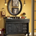 48 inch black bathroom vanity
