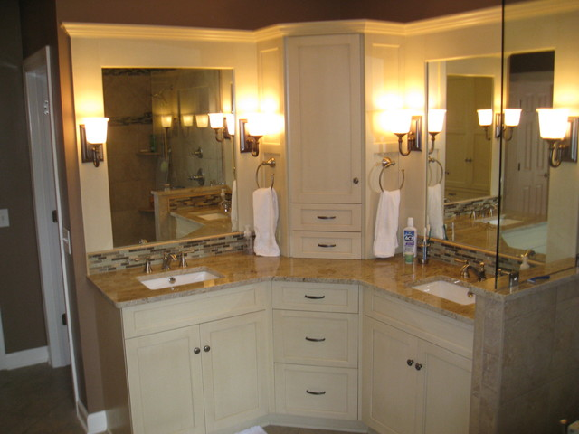 Corner Bathroom Vanity Convenient And Stylish E Saver For Your Unit