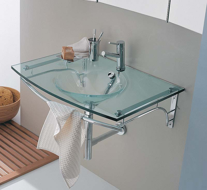 Utility Properties Of a Glass Sink — bathroom glass sink