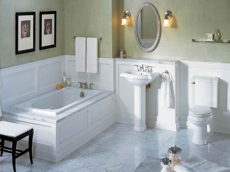 bathroom marble tile ideas - White Marble Tile Bathroom