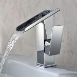 bathroom single handle faucets