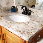 bathroom sinks with granite countertops
