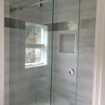 bathroom sliding glass shower doors