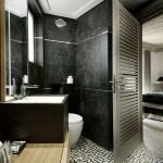 black marble bathroom tiles