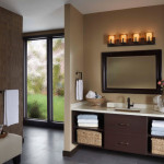 bronze bathroom lighting