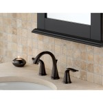 brushed bronze bathroom faucets