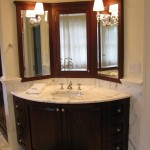 corner bathroom sink vanity units