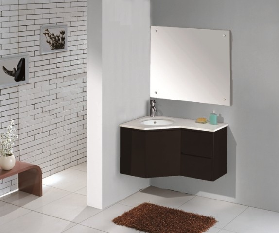 Corner Bathroom Vanity Convenient And Stylish E Saver For Your Sink