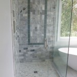corner shower glass doors