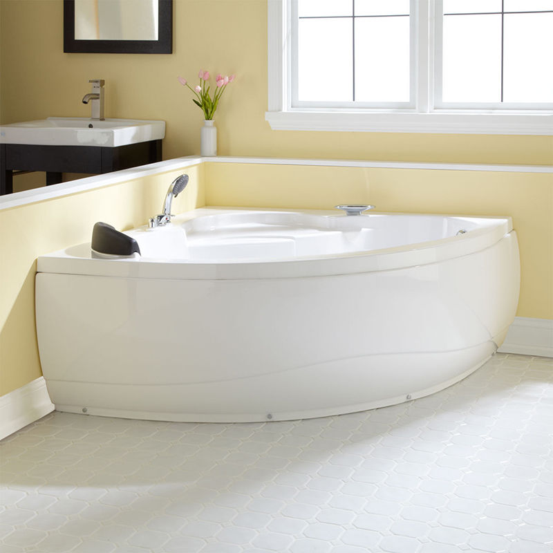 corner soaking tubs for small bathrooms Small Corner
