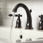 dark bronze bathroom faucets