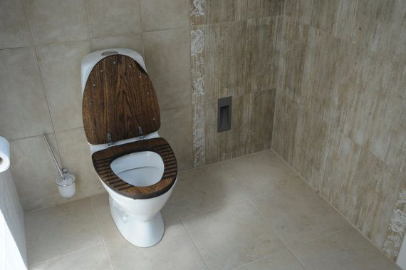 Fascinating Dark Wood Toilet Seat Contemporary   Best Inspiration .