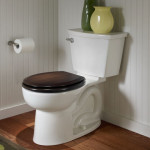 dark wood toilet seat