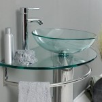 glass bathroom vessel sinks