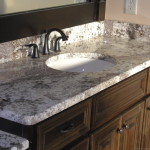 granite bathroom sink