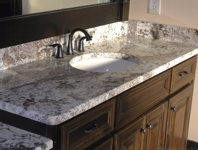 granite bathroom sink - stylish granite sink as natural and