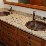 granite bathroom vanity top with sink