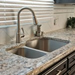 granite countertops with undermount sinks