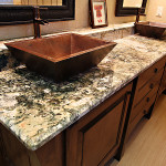granite sinks bathroom