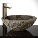 granite vessel sinks bathroom