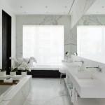 marble effect tiles bathroom