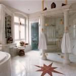 marble tile bathroom floor ideas