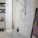 marble tile shower walls