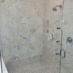 marble tiles in shower