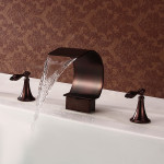 oil bronze bathroom faucets