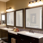 oil rubbed bronze sconces for the bathroom