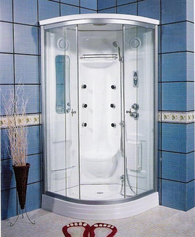 one piece corner shower stall - Corner Shower Stalls as Space-Saving Solution ...