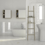 polished marble tiles bathroom