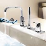 single handle bathroom faucet brushed nickel