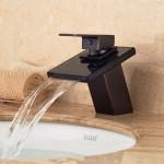 single handle bathroom faucet oil rubbed bronze