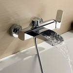 single handle bathtub faucet