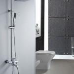 single handle shower faucet
