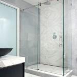 sliding glass door for shower