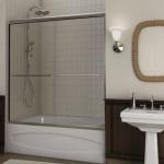 sliding glass shower doors for bathtubs