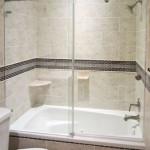 sliding glass tub shower doors