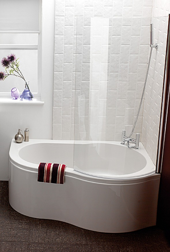 small corner bath tub - Small Corner Tubs Compact Yet Functional ...