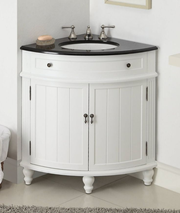 Corner Bathroom Vanity Convenient And Stylish E Saver For Your