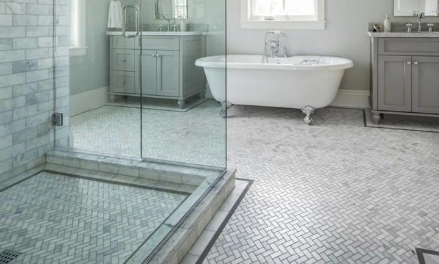 Ultimate Home Design Ideas: Marble Tile Bathroom — white marble tile bathroom ideas