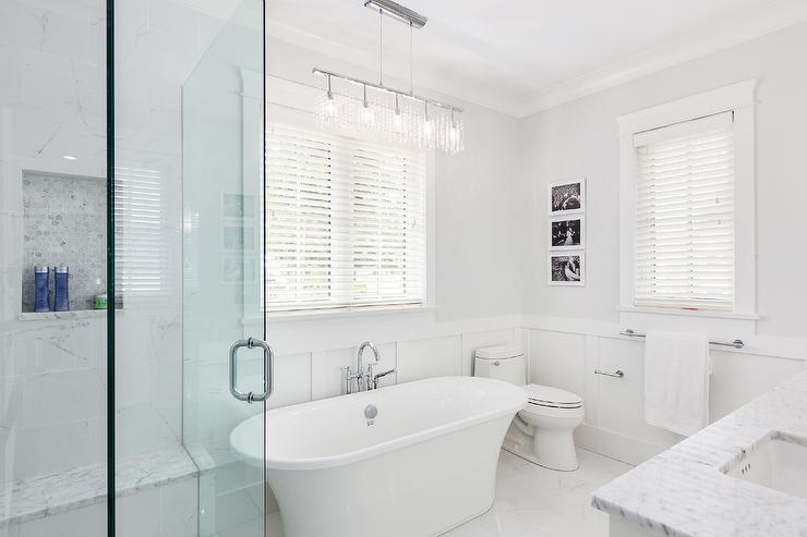 White Porcelain Floor Tile Bathroom Porcelain Tiles For Bathroom
