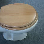wood slow close toilet seat