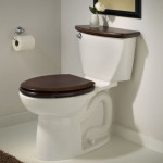 wood toilet seat cover