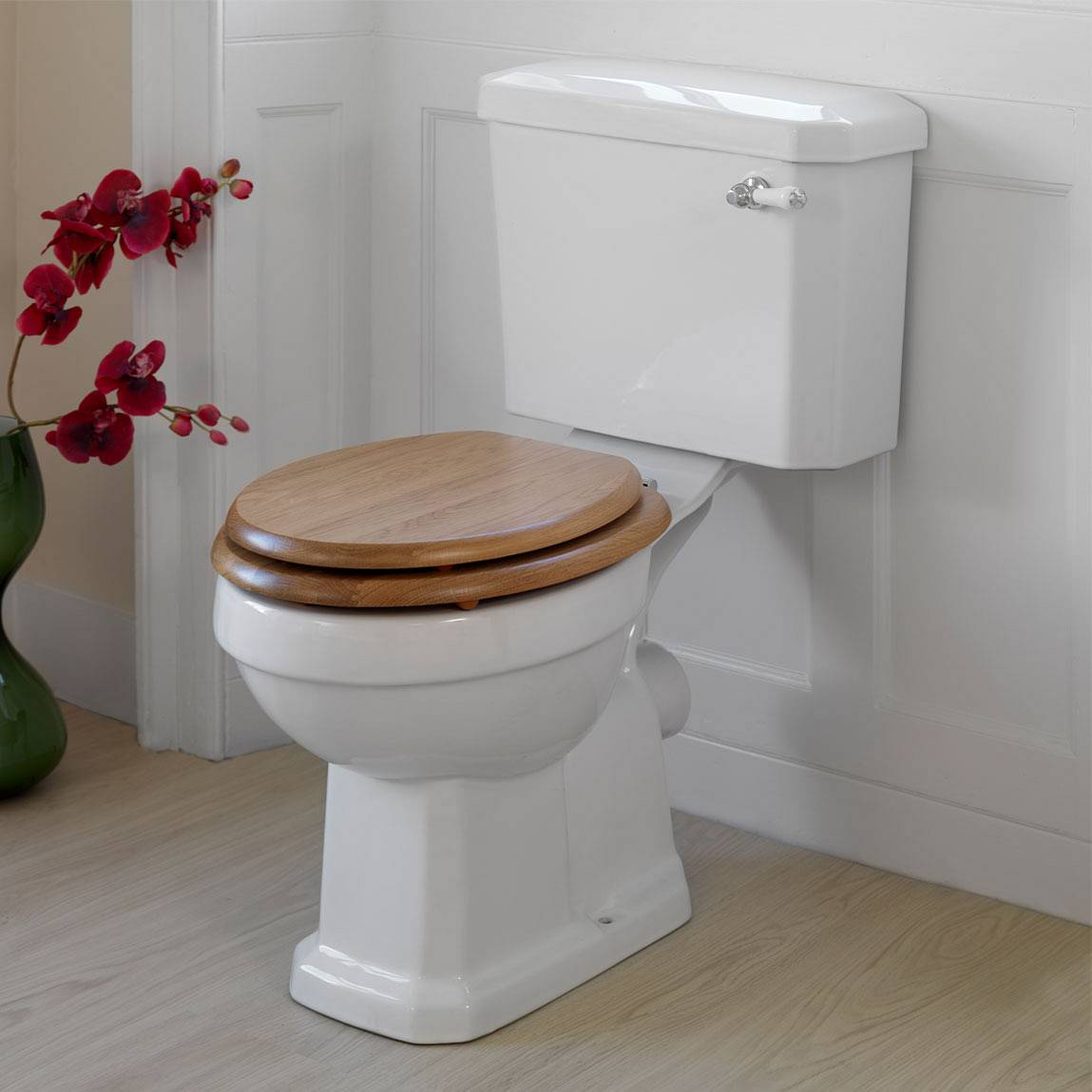 dark wood toilet seat A Wood Toilet Seat The Choice For Nature