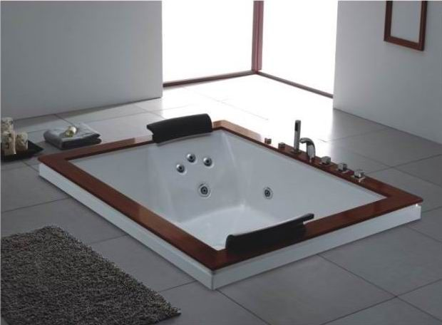 Two Person Bathtubs For A Romantic Couple  2 person bathtub spa