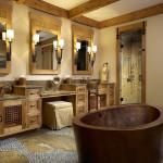 2 person japanese soaking tub
