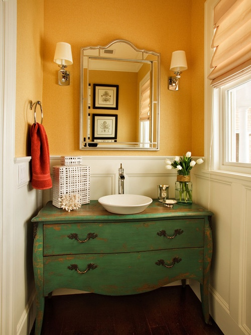 Bathroom Vintage Style Giving The Old Vanity Second Chance Antique Ideas