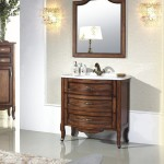 antique style bathroom vanity